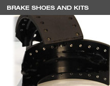 Brake shoes and kits