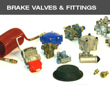 Brake valves and fittings